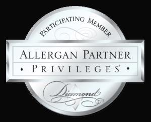 Allergan Partner Privileges Badge   Buckhead Plastic Surgery in Atlanta, GA Botox Cosmetic