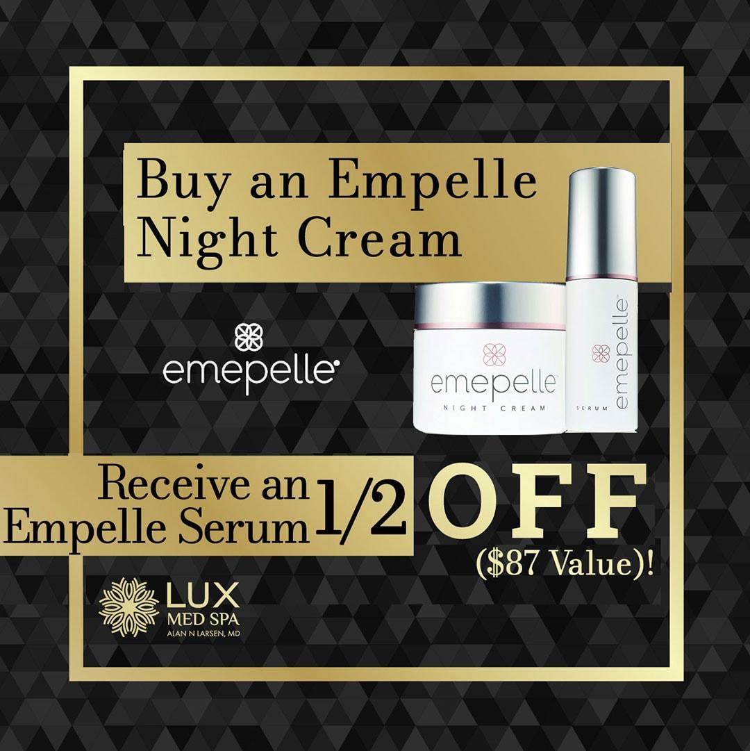 receive an empelle serum