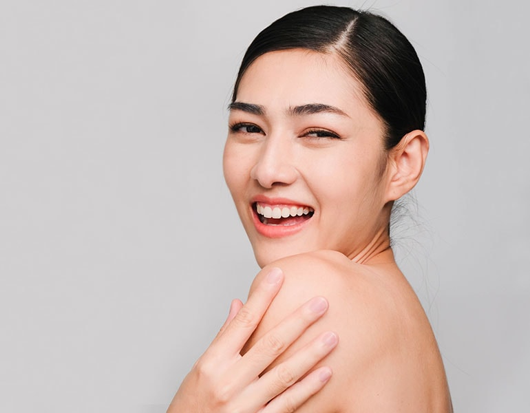 chemical peels - clear healthy vibrant skin at Lux Med Spa